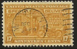 US Scott #E18, Single 1944 Special Delivery 17c Used VF