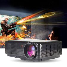 Home Theater Full HD 1080P LED LCD Projector 3D 3500 lumens TV USB HDMI VGA HDMI