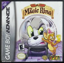 GBA Tom & Jerry The Magic Ring (2002) New & Factory Sealed, Flawed Box Top
