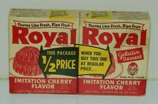 Howdy Doody Royal Cherry Gelatin Twin Pack  Full Rare
