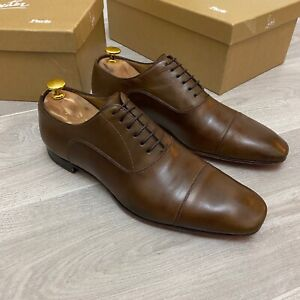 Christian Louboutin Brown leather shoes 7UK 41 7