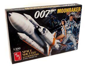 1:200 AMT JAMES BOND 007 Moonraker Space Shuttle *PLASTIC MODEL KIT* MISB!