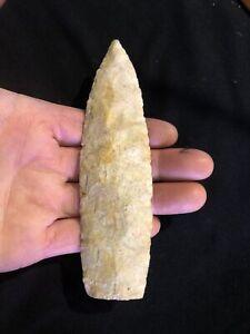 "5 1/4"" Sedalia Spear Point Authentic Artifact Archaic  VAN BUREN COUNTY IA."