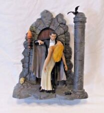 Bela Lugosi as Dracula  with Woman Custom Painted by Pizzazz