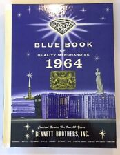 VINTAGE BENNETT BROTHERS BLUE BOOK OF QUALITY MERCHANDISE 1964