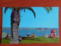 Postcard - San Diego, California- view from Santa Clara Point, Mission Bay beach