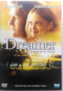 DVD Dreamer - La Route pour La Victoire Avec Dakota Fanning 2005 Usagé