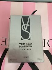 Victoria's Secret VERY SEXY PLATINUM For Him Cologne Men Perfume 50ml/1.7 OZ.New