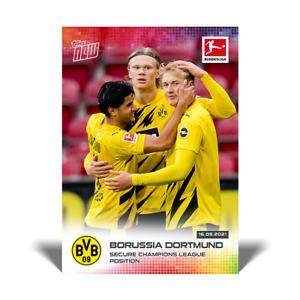 Borussia Dortmund - Erling Haaland - 2021 Bundesliga Topps Now - Card #193