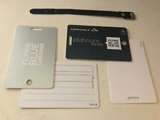 Flying Blue Luggage tag PLATINUM FOR LIFE, Skyteam ULTRA RARE