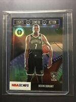 Kevin Durant NBA Hoops Premium Stock Lights Camera Action SILVER PRIZM PSA?
