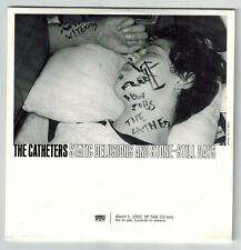 The Catheters Static Delusions And Stone-Still Days PROMO CD Sub Pop Rare