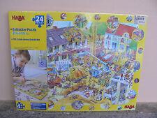 NUOVO Haba puzzle Baustelle 3910 24 pezzi Puzzle degli esploratori