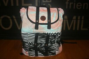 New with Tag Roxy Beach Love Backpack Day Bag Beach Bag SHIP FREE FAST US