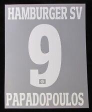 HSV Hamburger SV PAPADOUPOULOS Player Flock für adidas Away/3rd Trikot 2017-2018
