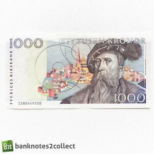 SWEDEN: 1 x 1,000 Swedish Krona Bnaknote.