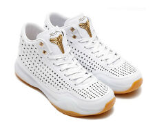 Nike Kobe X Mid EXT.. White/ Gold.. Size Men 9.5 or Women 11.. Fast Shipping!