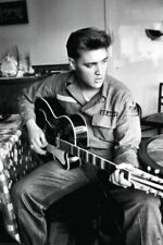 """Poster - Elvis Presley - At the Army - Wall Poster - 60x91cm (24x36"""")"""