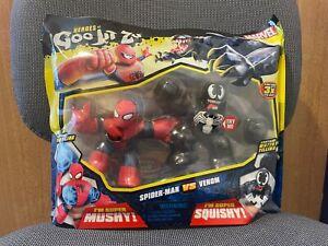 New Marvel Heroes of Goo Jit Zu - Spiderman vs. Venom Twin Pack - Toys / Figures
