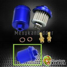 For Honda Civic Acura Integra Racing High Flow Volume Fuel Filter 200psi Blue