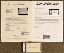 *JSA & PSA/DNA CERTIFIED CUT AUTO* Babe Ruth Signed Yankees Autograph LOA COA