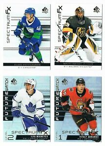 2019-20 SP Authentic Spectrum FX Upper Deck Bounty Unscratched Pick From List !!