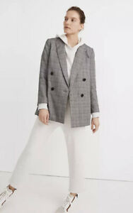 Caldwell Double-Breasted Blazer: Peaked Lapel Edition SZ Med  NWT $168