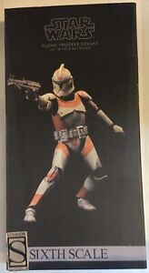 Sideshow Star Wars clone trooper deluxe 212th Attack battalion