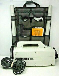 Oreck XL Model BB870-AW Handheld Compact Vacuum Cleaner, Hoses MISSING BACK DOOR