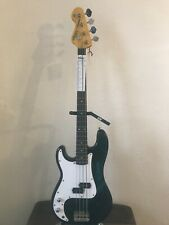 LEFT HAND Vintage Precision Bass Guitar. LV4 BK [LH PRECISION]