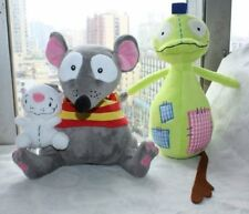2pcs Toopy and Binoo Patchy Patch Plush Doll Figure Stuffed Soft Toy Xmas Gift
