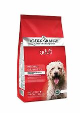 Arden Grange Fresh Chicken and Rice Adult Dog Food Optimum Nutrition 12 kg