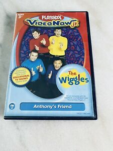"""PLAYSKOOL VIDEO NOW jr. THE WIGGLES """"ANTHONYS FRIEND"""" PVD DISC"""