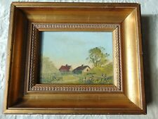 FRAMED OIL ON BOARD PAINTING SIGNED ART ARTWORK DIGBY PAGE