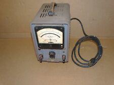 Vintage Hp Hewlett Packard Model 400 Vacuum Tube Voltmeter