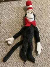 "Vintage 1983 CAT IN THE HAT 26"" Plush! Dr. Seuss Stuffed Animal"