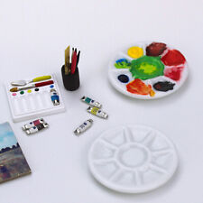 1:12 scale Dollhouse miniature photography props pigments ceramic dish Us