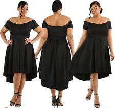 Abito Fascia Svasato Taglie forti Grandi Curvy Formosa Plus Size Lace Dress XXXL