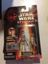 ODY MANDRELL & PIT DROID star wars EPISODE 1 RED CARD