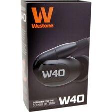 Westone W40 Quad-Driver Noise Isolating Earphones l 2 Year Warranty   Brand New