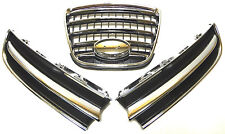 NEW SUBARU Tribeca B9 2006-2007 front bumper grille chrome set (LH+CENTER+RH)