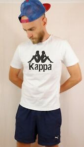 Kappa Authentic Estessi T Tee Shirt Medium Slim Fit White