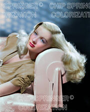 VERONICA LAKE in The Glass Key | 8x10 COLOR Photo by CHIP SPRINGER