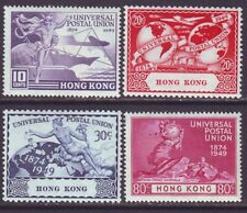 Hong Kong 1949 SC 180-183 MH Set UPU