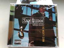 CD: SAN QUINN - The Mighty Quinn (2001) Sealed Rare OOP Bay Area Rap G-Funk