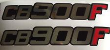 HONDA CB900F CB900 CB900FZ CB900FA CB900FB CB900FC SIDE PANEL DECALS 2