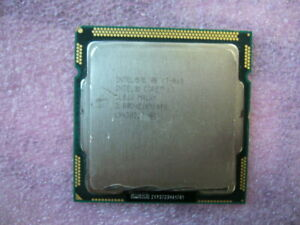 QTY 1x INTEL Core i7 Quad Core CPU i7-860 2.80GHZ/8MB LGA1156 SLBJJ
