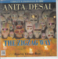 Anita Desal The Zigzag Way 6CD Audio Book Unabridged Ghosts Mexico FASTPOST
