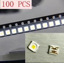 100pcs LED TV Backlight Lamp Beads Cold White 2828 3V 1.5W FOR Samsung 32〞-55〞