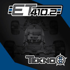 Tekno TKR7202 – ET410.2 1/10th 4WD Competition Electric Truggy Kit